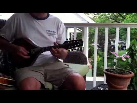 Cherokee Shuffle - A vs F style mandolin