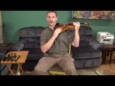 Violin/Viola Lesson - How To Attach A Shoulder Rest