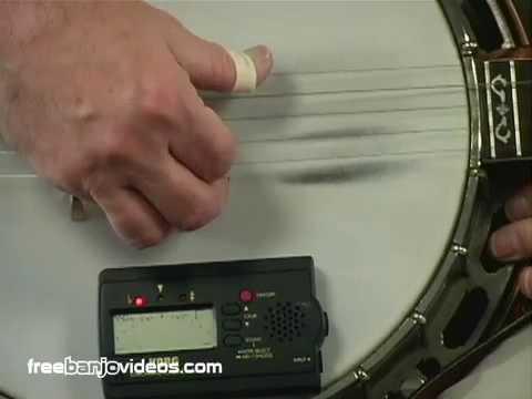 Banjo Lesson: How to Tune the 5 String Banjo