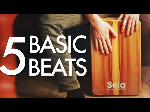 5 Basic Cajon Beats You Can Learn Today