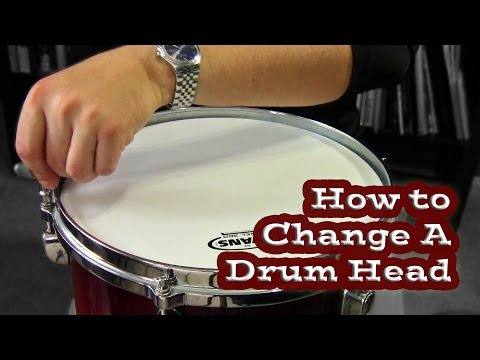 How to Change a Drum Head