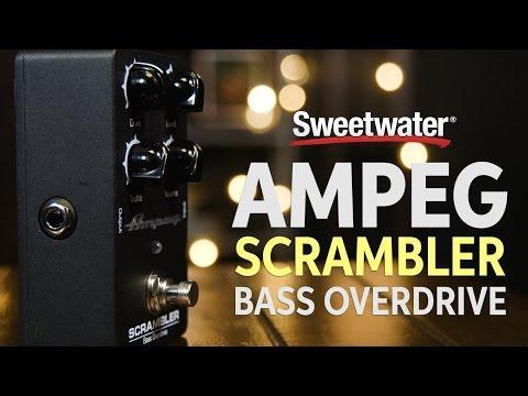 Ampeg Scrambler Bass Overdrive Pedal Demo