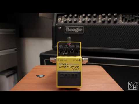 Boss Bass OverDrive ODB-3 - DEMO